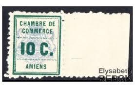 chambre des commerces amiens timbre de grève n 1 bdf amiens philatelie berck