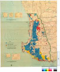 Map Of The South Map Of The South West Of Western Australia Showing State Forests