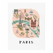 Map Of Paris France by Download Map Of Paris For Kids Major Tourist Attractions Maps