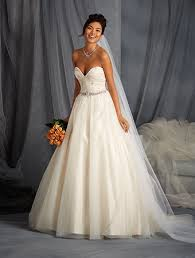 Affordable Wedding Gowns Net Overlay Affordable Wedding Dress With Sweetheart Neckline