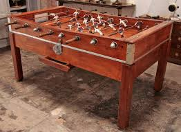 vintage foosball table for sale italian 50 s foosball table from a unique collection of antique