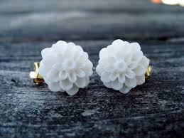 clip on earrings accessorize white dahlia clip on earrings accessorize yourself