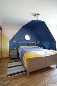 la chambre blue dévoilement du relooking on met de la couleur dans ta déco
