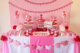 Home Decor Design by Valentine Party Table Decorations