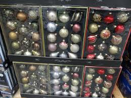 painted glass ornaments set