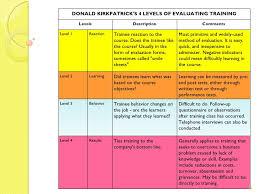 sample training evaluation form example sample training
