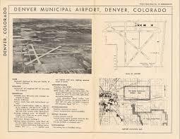 Denver Terminal B Map Stapleton Den History Help Airliners Net