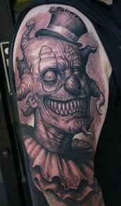 goblin evil clown tattoo idea best tattoo ideas gallery