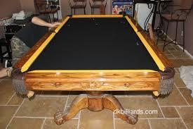 How To Refelt A Pool Table Steelers Pool Table Refelt Dk Billiards U0026 Service Orange County Ca