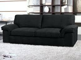 canap en tissu pas cher canap tissu noir amazing canap places rlx lect ii noirgris cl