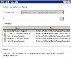 change management in system center service manager u2013 www contoso se
