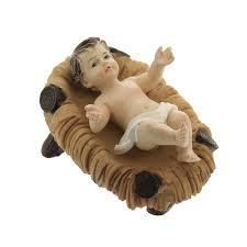 baby jesus in crib figure 3 the catholic company