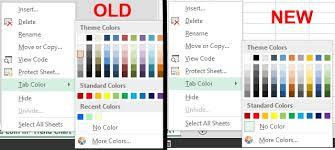 colour themes for excel excel 2013 new color palette for text fill tab color can i get