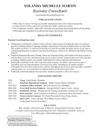 Business Consultant Job Description Resume by Yolanda Martin Workforce Solutions How To Create A Complete One