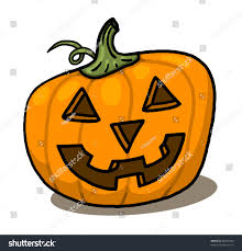 halloween pumpkin drawing colored festival collections pebbles
