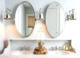 Oval Bathroom Mirrors Brushed Nickel Oval Mirrors For Bathrooms Oval Mirrors For Bathrooms Oval