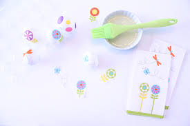 Easter Egg Decorating Baby by No Mess Easter Egg Hack Using Paper Napkins Babble