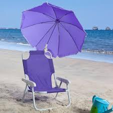 Beach Umbrella And Chair Folding Beach Chair With Umbrella Purple Pumpkin Gifts