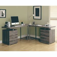 S Shaped Desk Monarch Specialties Hollow L Shaped Desk The Mine
