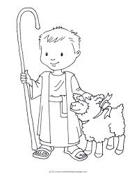 the good shepherd book coloring pages german boy coloring