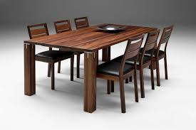 Fascinating Wooden Dining Table Designs For Warm Atmosphere In The - Dinning table designs
