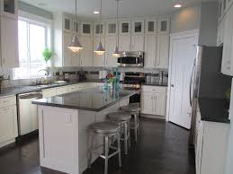 kitchens without islands upper kitchen cabinets painted upper stained lower cabinets with