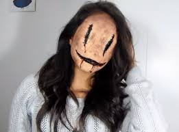 ms smiley scary makeup tutorial