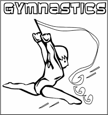 gymnastics coloring pages rhythmic gymnastics hoop coloringstar
