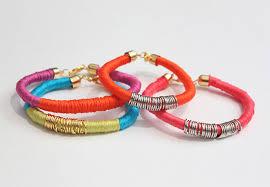 diy bracelet with thread images Diy thread wrapped bracelets jpg
