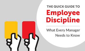 the quick guide to employee discipline what every manager needs