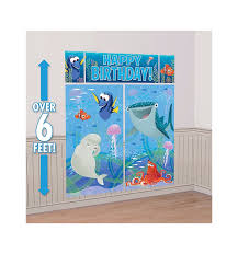 sweet birthday scene setters wall decorating kit party
