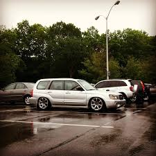 stanced subaru forester lowered foresters page 41 nasioc