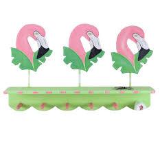 Tropical Decor Pink Flamingo Wall Hooks Tropical Decor Whyrll Com