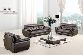 casa 3011 modern espresso bonded leather sofa set
