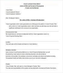 offer letter template 54 free word pdf format free u0026 premium