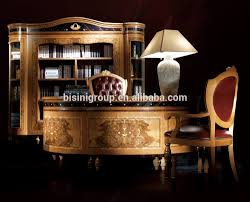 Handmade Office Furniture by High End Luxury European Style Office Furniture Set For Villa