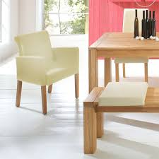 Esszimmerst Le Design Leder Esszimmerstühle Mit Armlehne Leder Haus Ideen