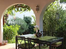 mediterranean house beautiful mediterranean house with ornamental garden architecturein