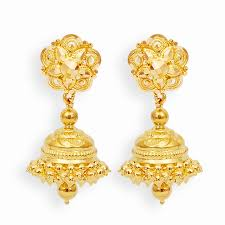 earing models grt collections gold earings gold jimikki set i