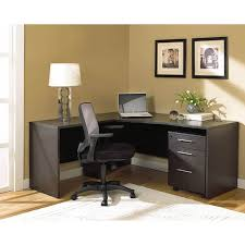 Left Corner Desk 100 Series Modern Corner Desk File Espresso Left