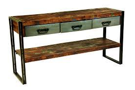 Sofa Desk Table by Reclaimed Wood Sofa Table Diy Centerfieldbar Com