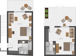 plan d une chambre d hotel hébergement de luxe à l île de bungalows