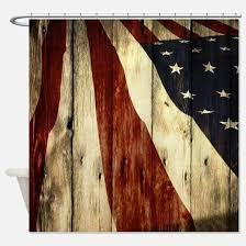 Red White Shower Curtain Red White Blue Shower Curtains Cafepress