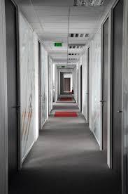 bureau architecture hallway architectured by cléram office design style design