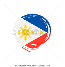 philippines flag vector illustration on a white background vectors