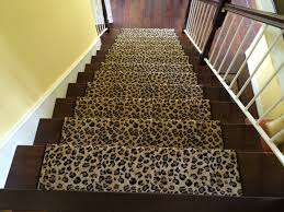 leopard animal print stair runner hemphill u0027s rugs u0026 carpets