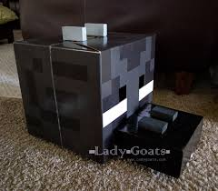 lady goats how to make an enderdragon costume