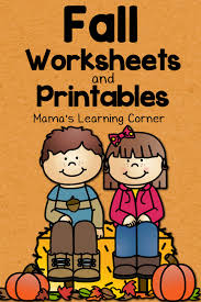 fall worksheets and printables mamas learning corner