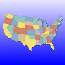 united states map with states on it united states map quiz on the app store