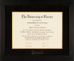 diploma frame of florida levin college of diploma frame talking